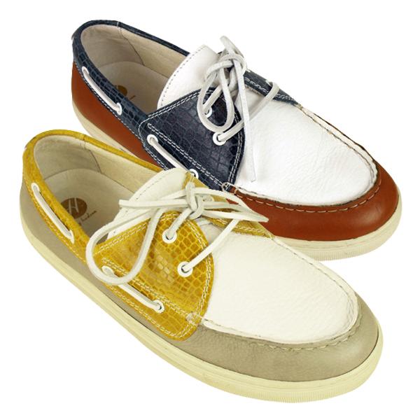 mens h by hudson magnus leather smart boat shoe formal