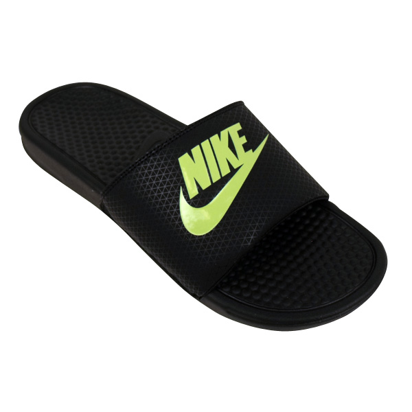 Mens Nike Benassi Slide Sandals Pool Beach Water Flip Flop Sandal ... fe8ae4cc4