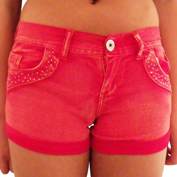 Womens-Sexy-Denim-Hot-Pants-Diamante-Shorts-Pant-Ladies-Bling-Short-Size-8-14