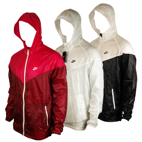 Mens Nike Summerized Windrunner Windbreaker Hooded Running Jacket ...