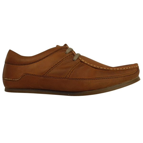Top Designer Clothing - Mens Base London Waxy Tan Leather Wallaby