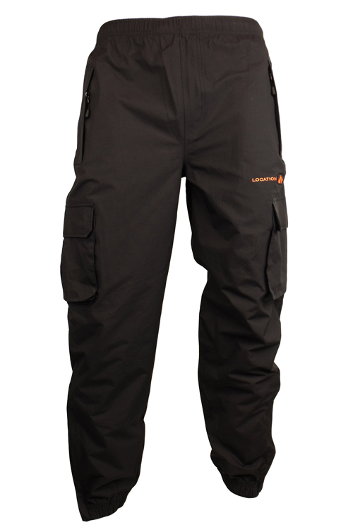 Mens Location Bronx 1 Waterproof Tracksuit Track Pants Cuffed ...