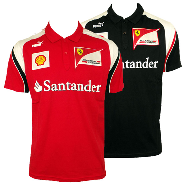 puma herrenshirt sf scuderia ferrari formel 1 team polo. Black Bedroom Furniture Sets. Home Design Ideas