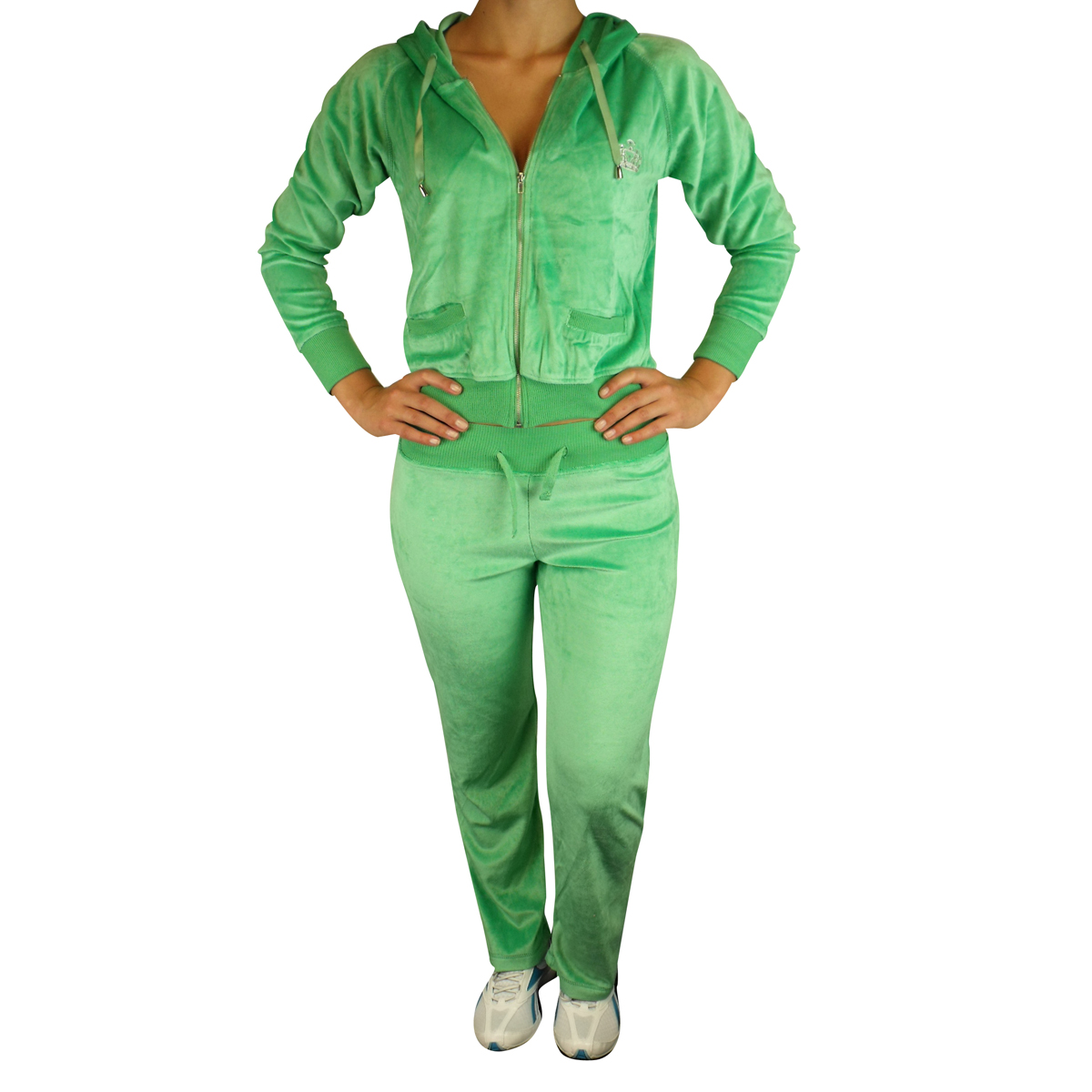 surv tement complet femme veste capuche pantalon sport jogging sport velours ebay. Black Bedroom Furniture Sets. Home Design Ideas