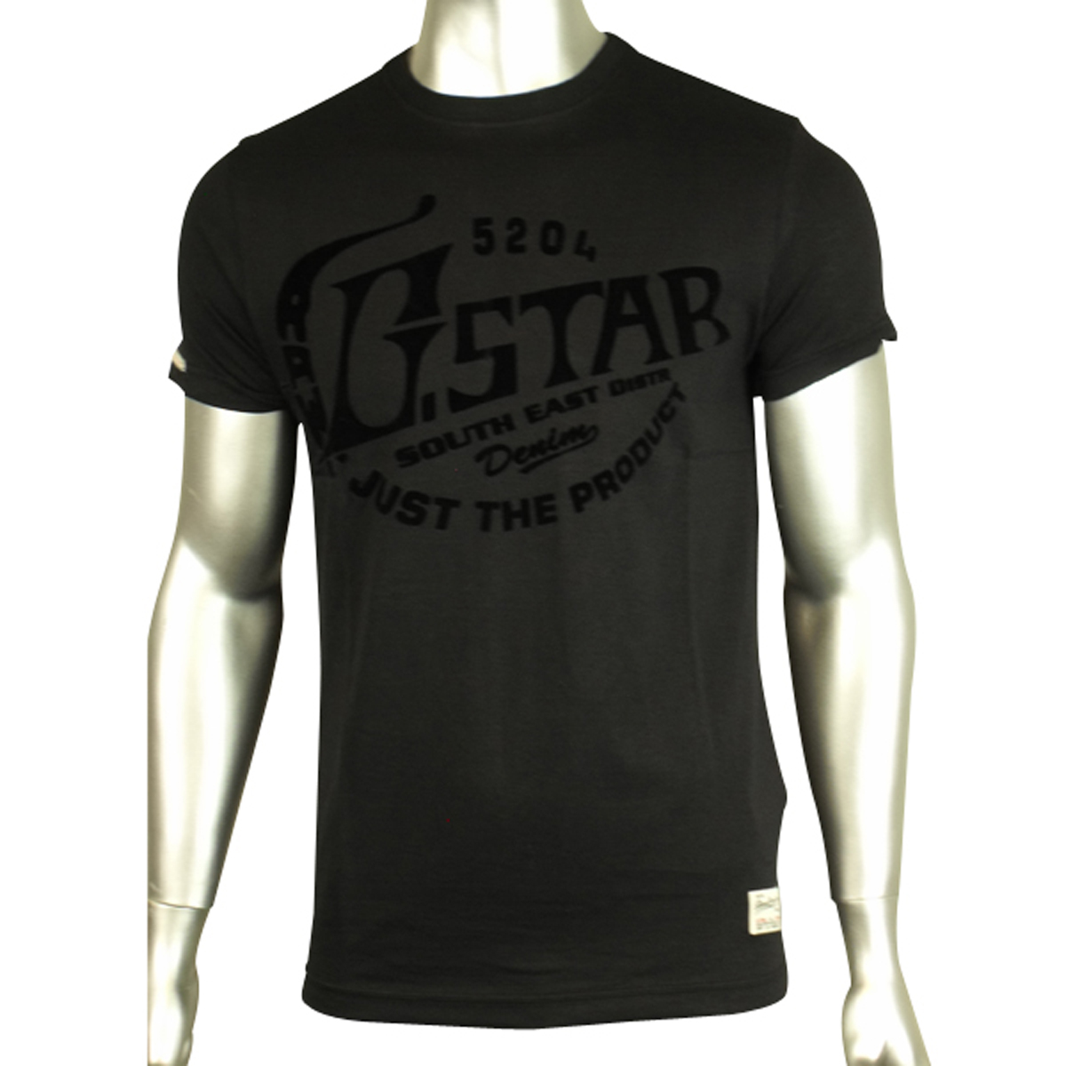 d8881a1916 Mens G-Star Raw G Star Denim Slim Fit Designer Crew Neck T-Shirt Tee ...