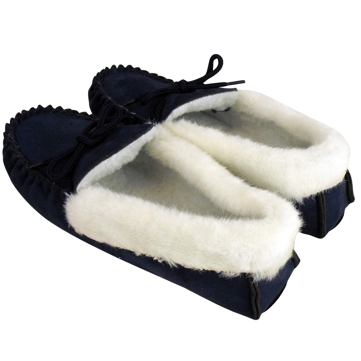 Furry Moccasins Womens Shoes