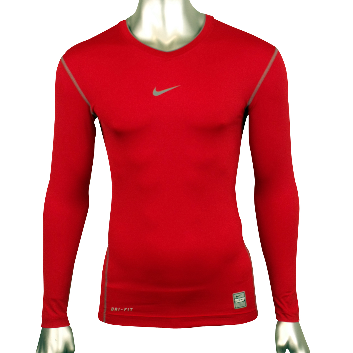 Mens-Nike-Pro-Combat-Compression-Sports-Training-Long-Sleeve-Top-Baselayer-Tee