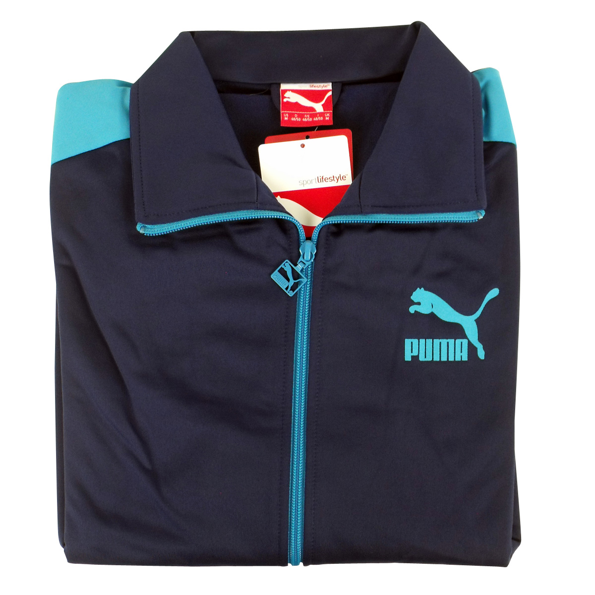 puma tracksuit mens grey