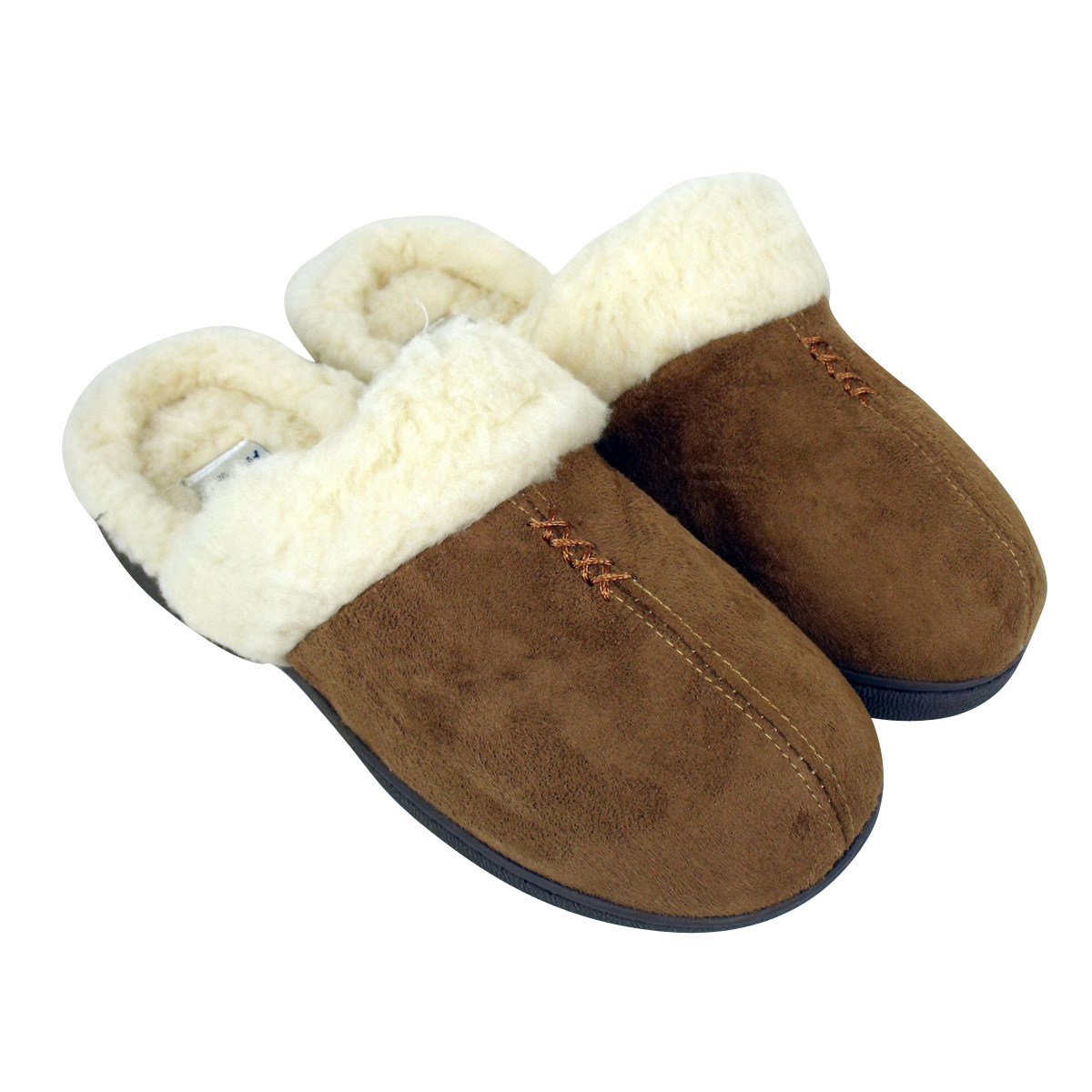 Treat your feet with a pair of women's slippers. From super-soft materials like sheepskin and suede to playful details such as embroidery and pom-poms, these are styles you'll look forward to slipping into.