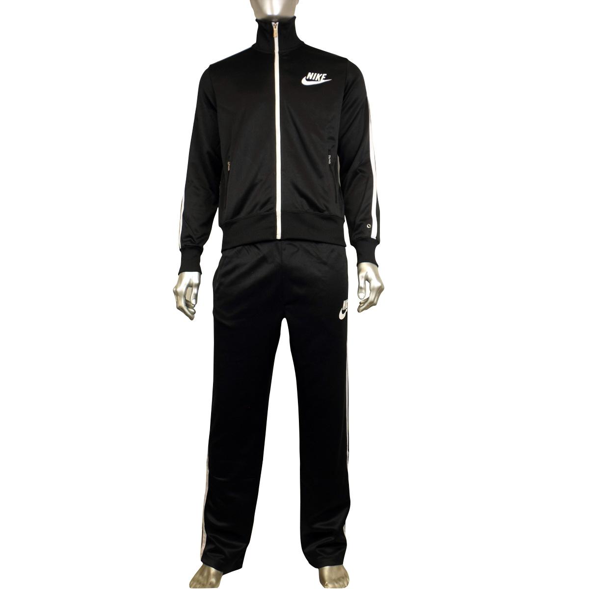 bc3a79ce Мужские мальчики Nike черный полиэстер полный костюм спортивный ...