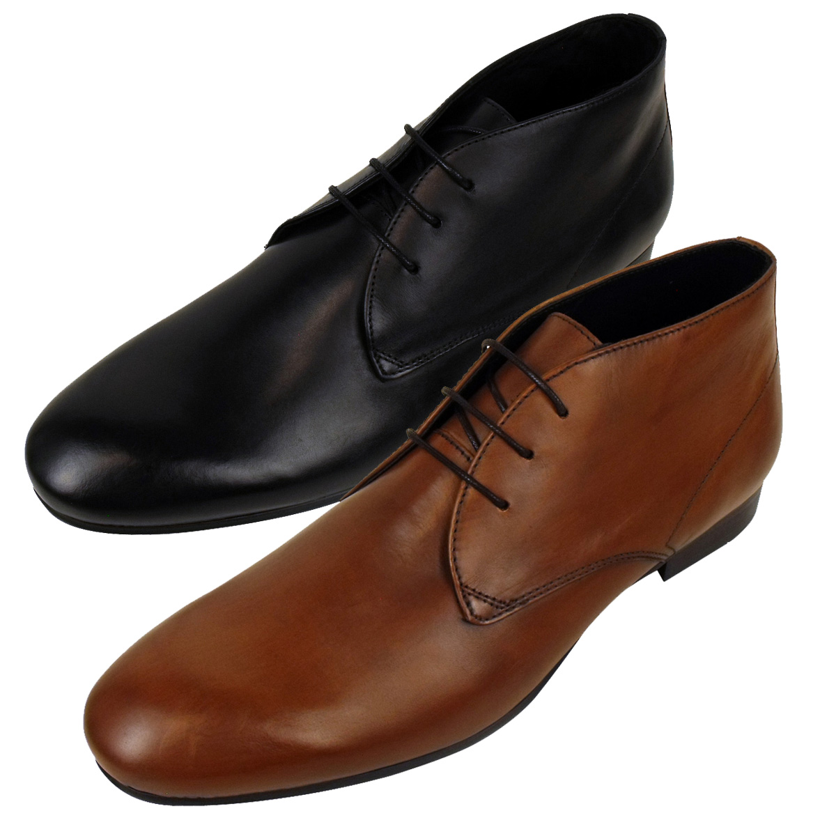 mens h by hudson leather smart chukka boot soes formal