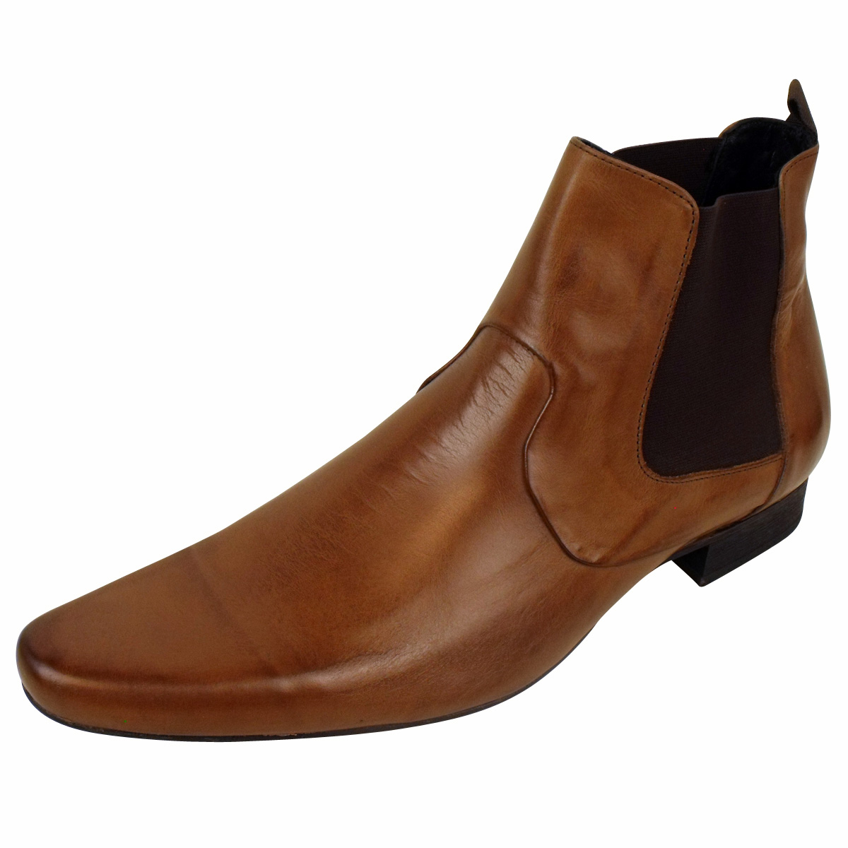 mens h by hudson leather smart chelsea boot soes formal