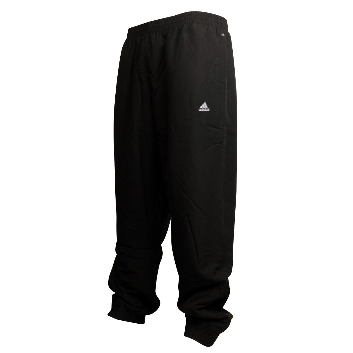 Mens Adidas Black Stanford Tracksuit Track Pant Clima Lite