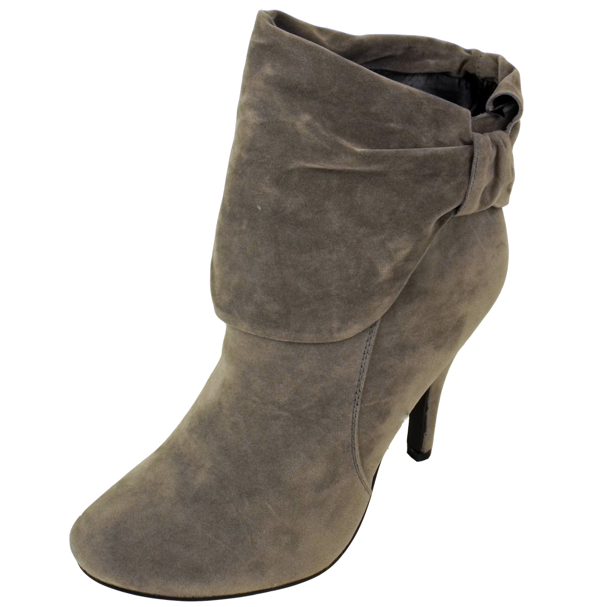 Grey Ankle Boots Ladies - Yu Boots