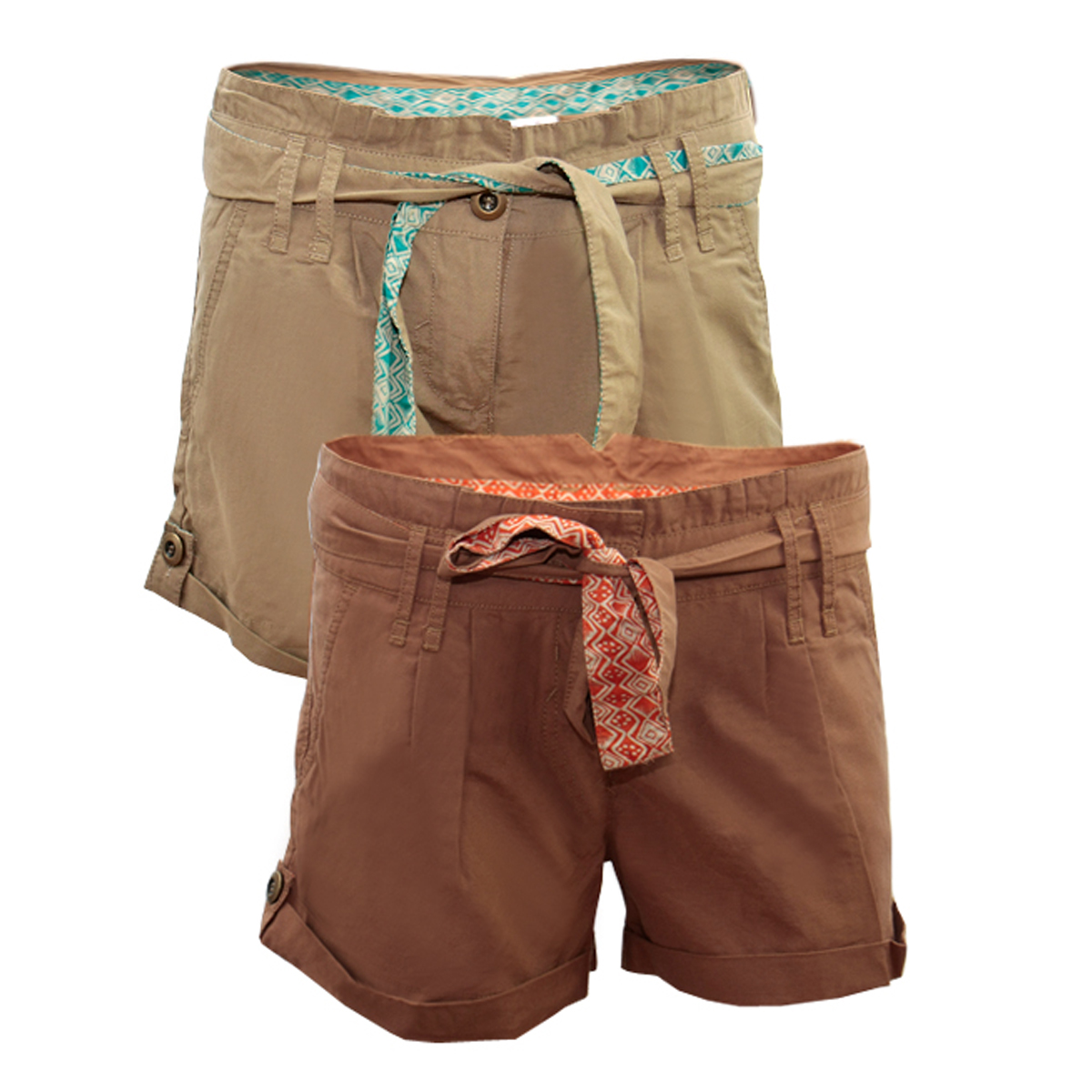 Free shipping BOTH ways on Shorts, Brown, Women, from our vast selection of styles. Fast delivery, and 24/7/ real-person service with a smile. Click or call
