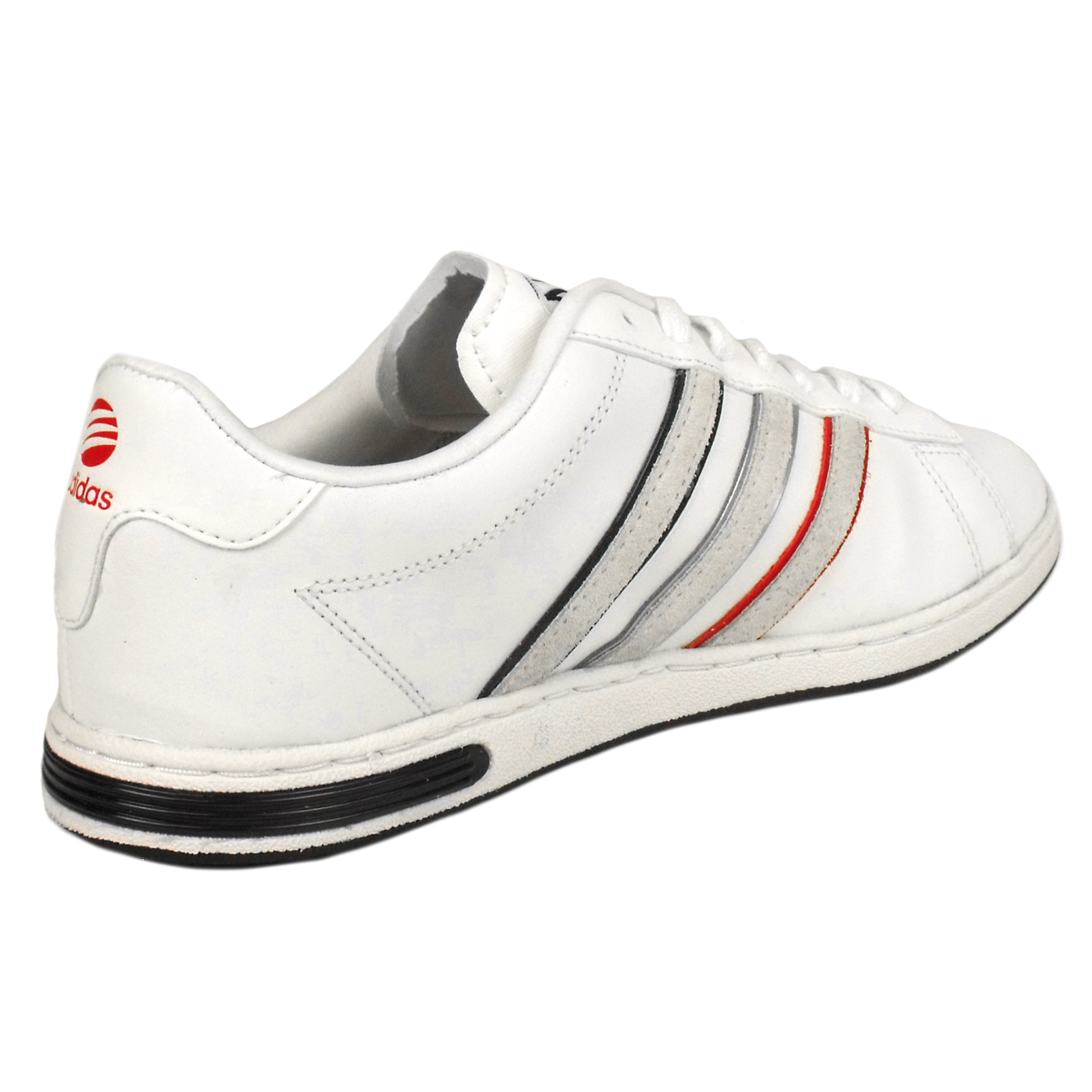mens adidas derby ii neo label trainers white leather. Black Bedroom Furniture Sets. Home Design Ideas