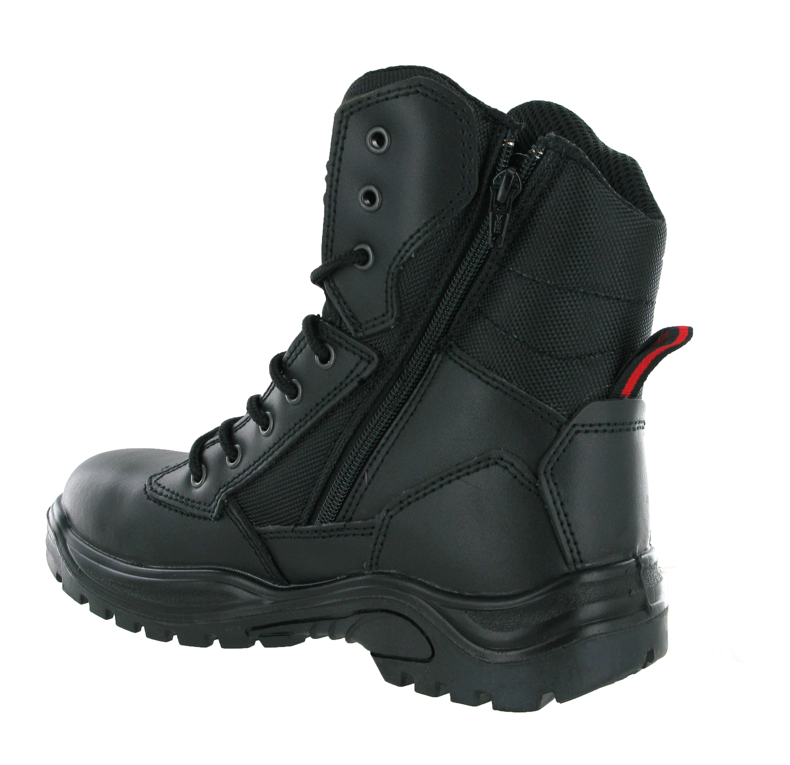 Steel Toe Cap Combat Tactical Safety Ankle Boots Security ...