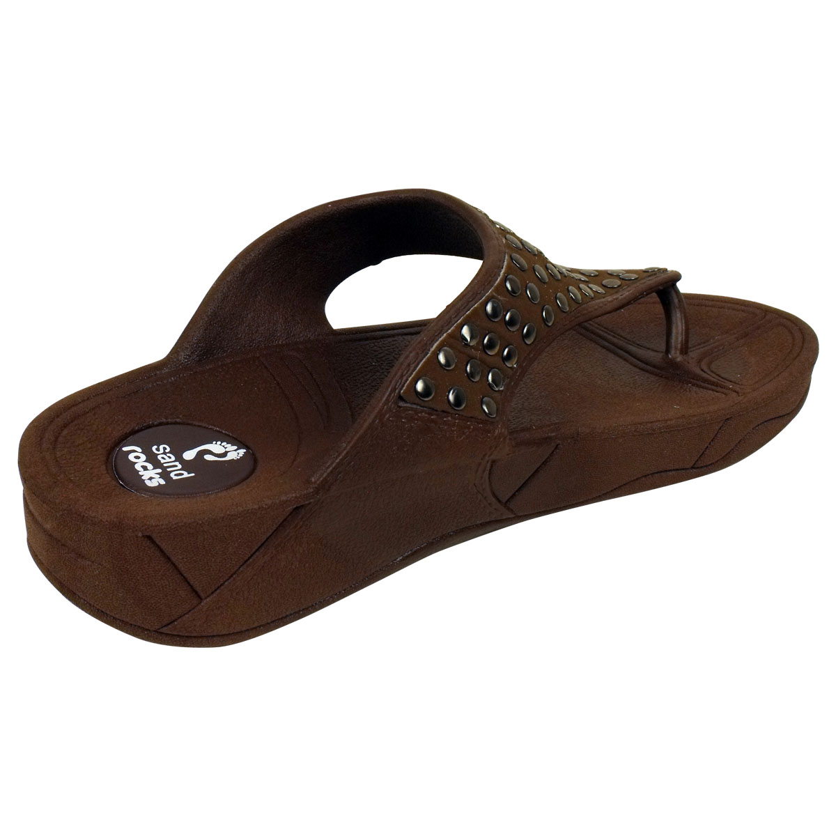 Women Toe Post Keep Fit Workout Sandal Flip Flop Wedge