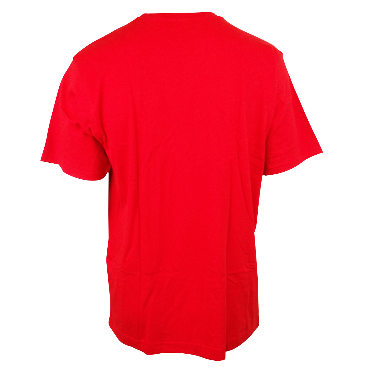 Mens nike retro red cotton tee t shirt running training top l for Old school nike shirts