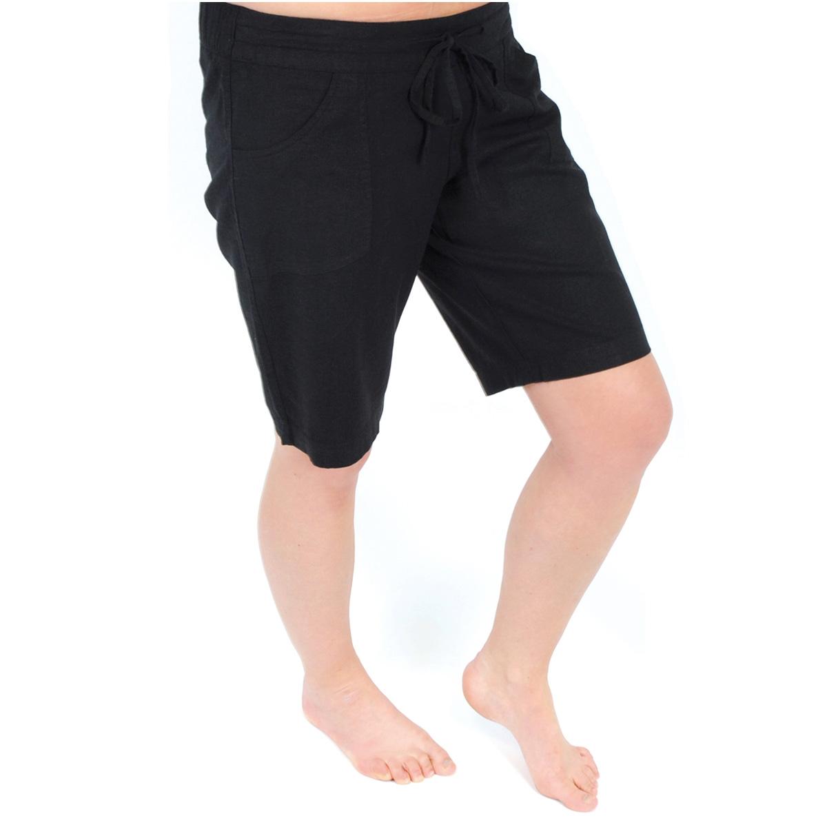 Brilliant Alfani Short Length Pullon Pant  Ebony Black  Women  Apparel
