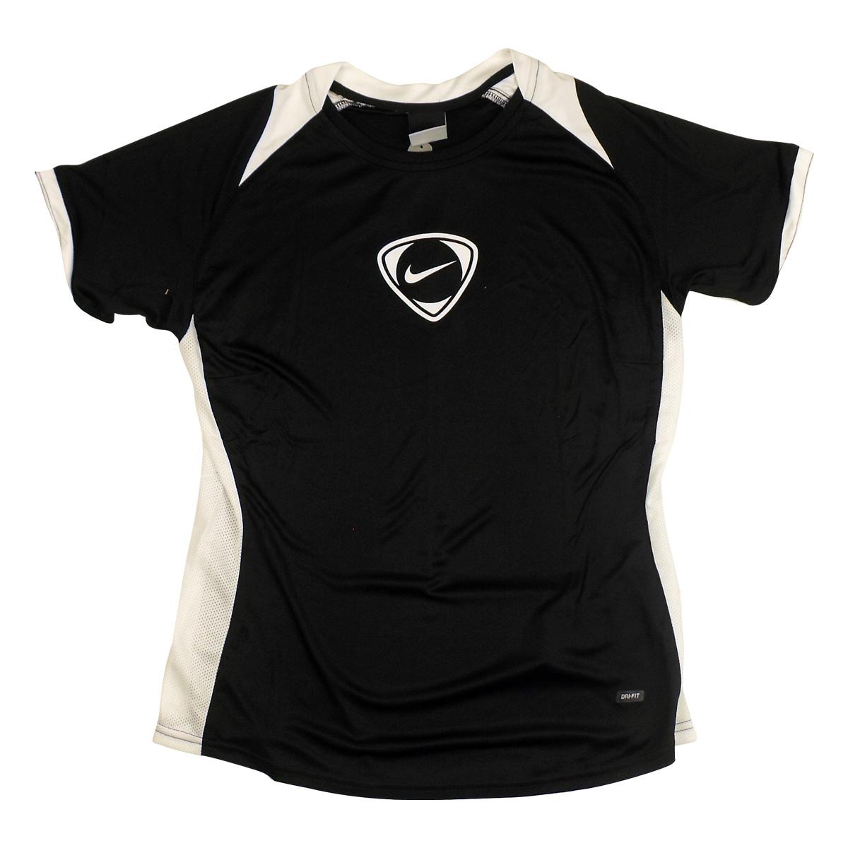 Womens Nike Dry Dri FIT Running Shirt Vest Top Tee Ladies ...