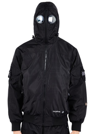 Mens Location Hunter WR Goggle Bomber Jacket Preview