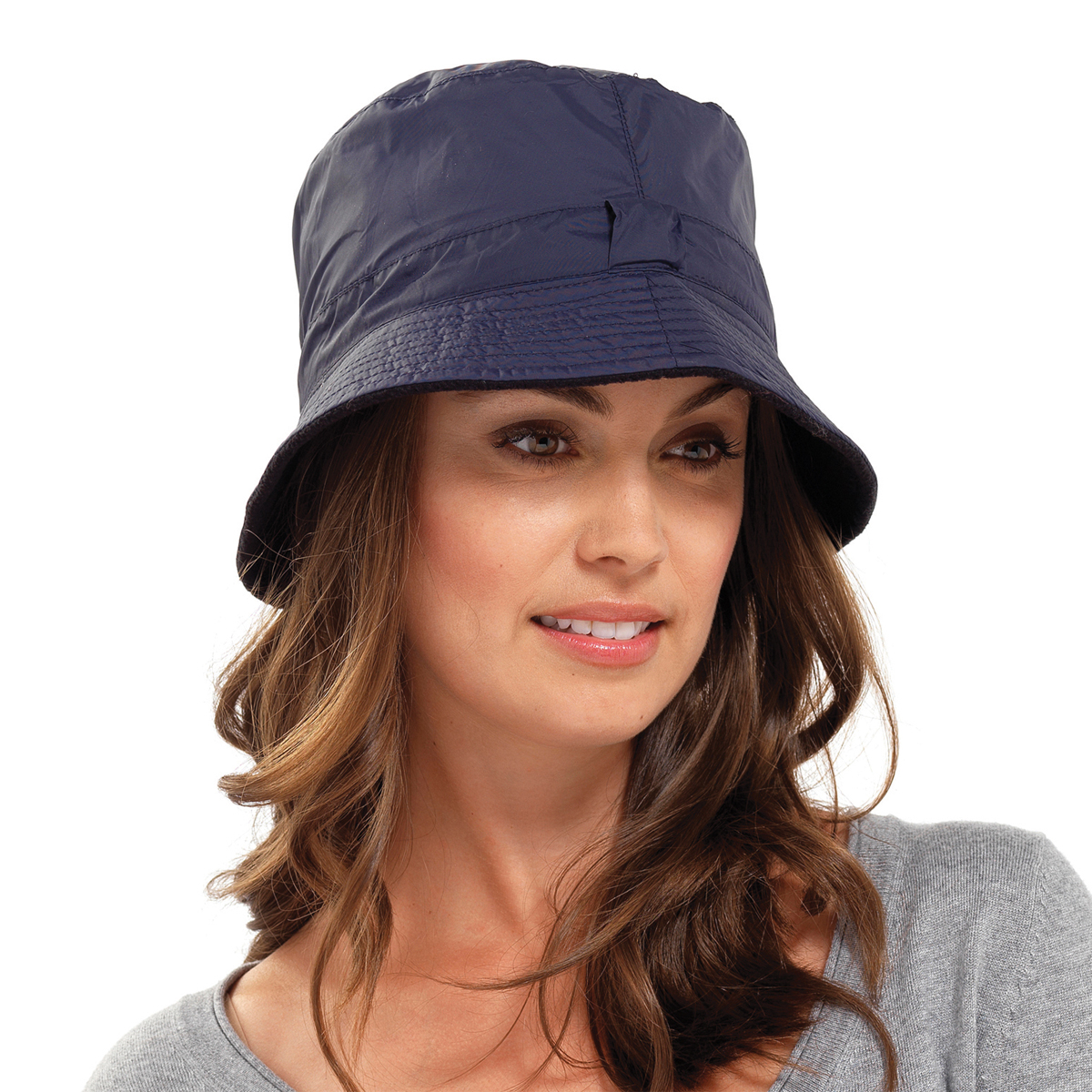 Waterproof bucket hat mens womens ladies casual country for Womens fishing hat