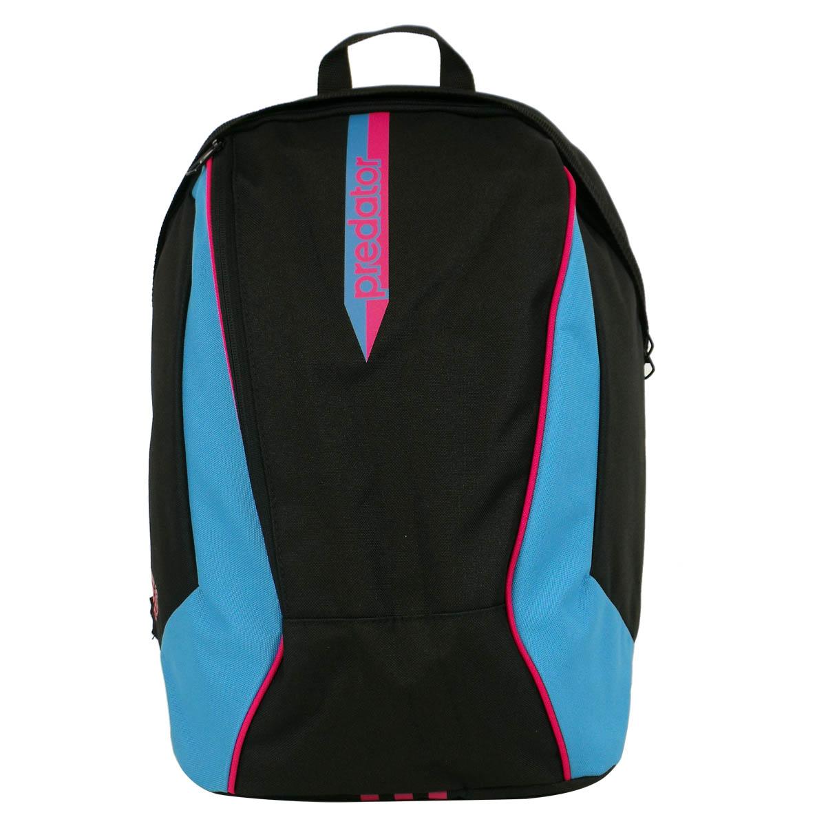 adidas boys black school rucksack backpack a4 shoulder bag