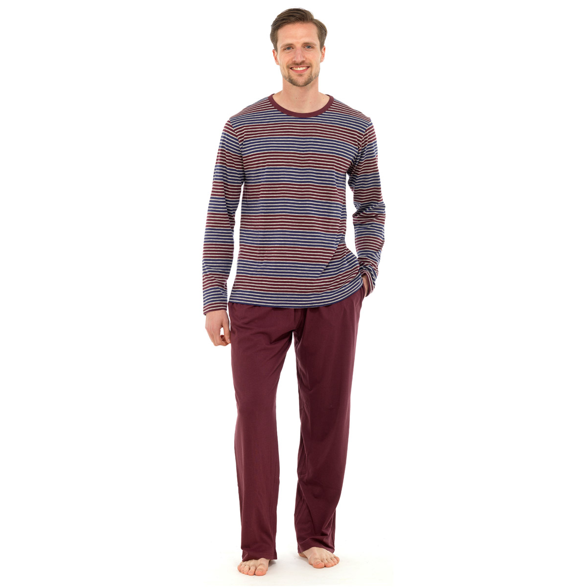 Shop men's sleepwear and loungewear at Bare Necessities! Our selection of comfortable nightwear includes pajamas, pajama sets, robes, sweatpants and more. Bare Necessities is the only online intimates retailer to offer certified Bra Fit Experts to its customers!