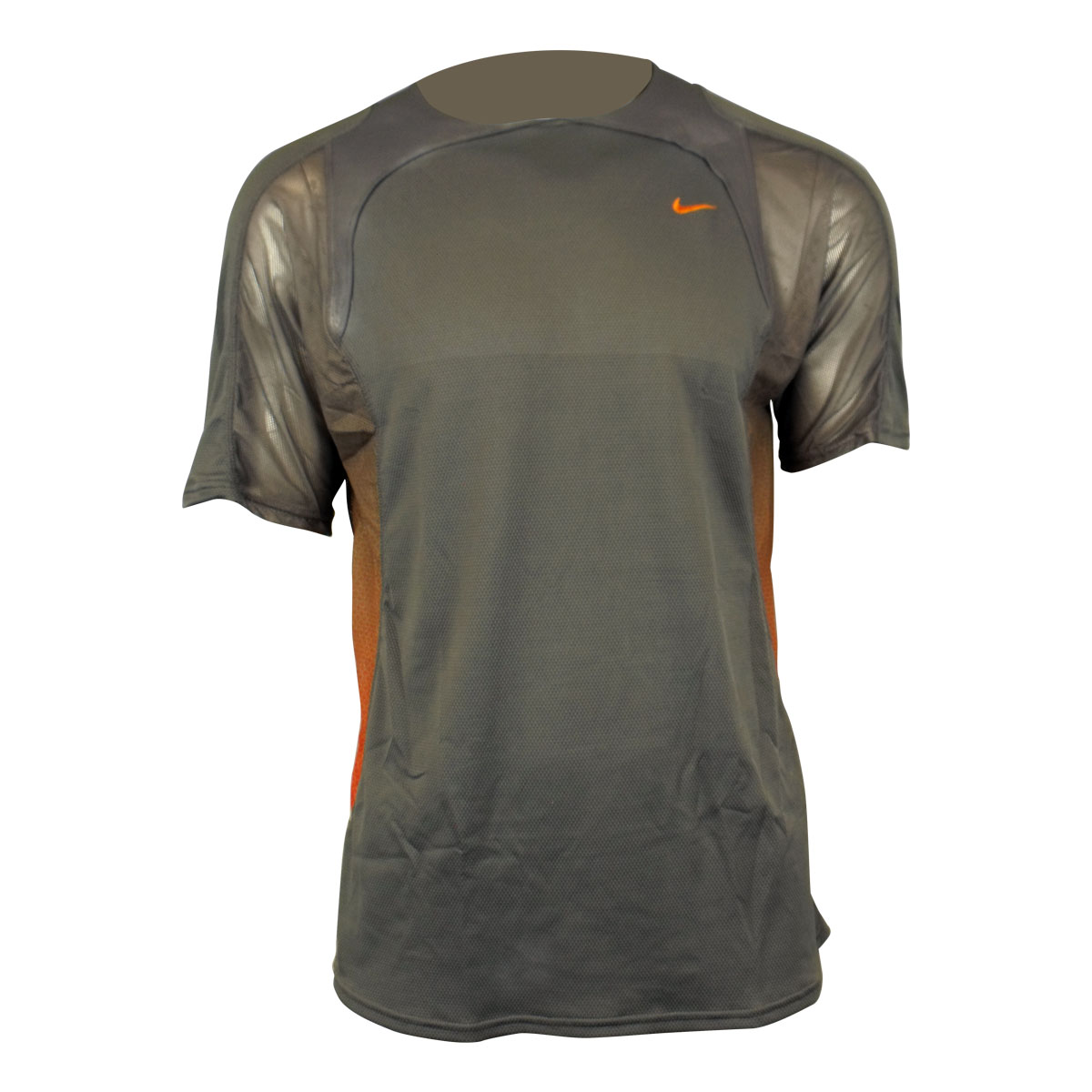 Mens nike sphere dry dri fit running shirt top t shirt gym for Best athletic dress shirts