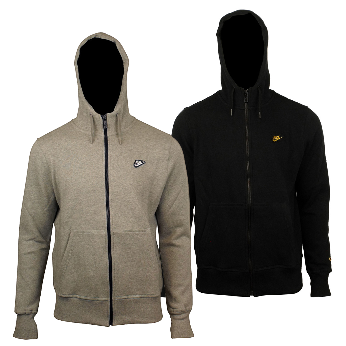 Nike sweatshirt classic fleece full zip hoodie
