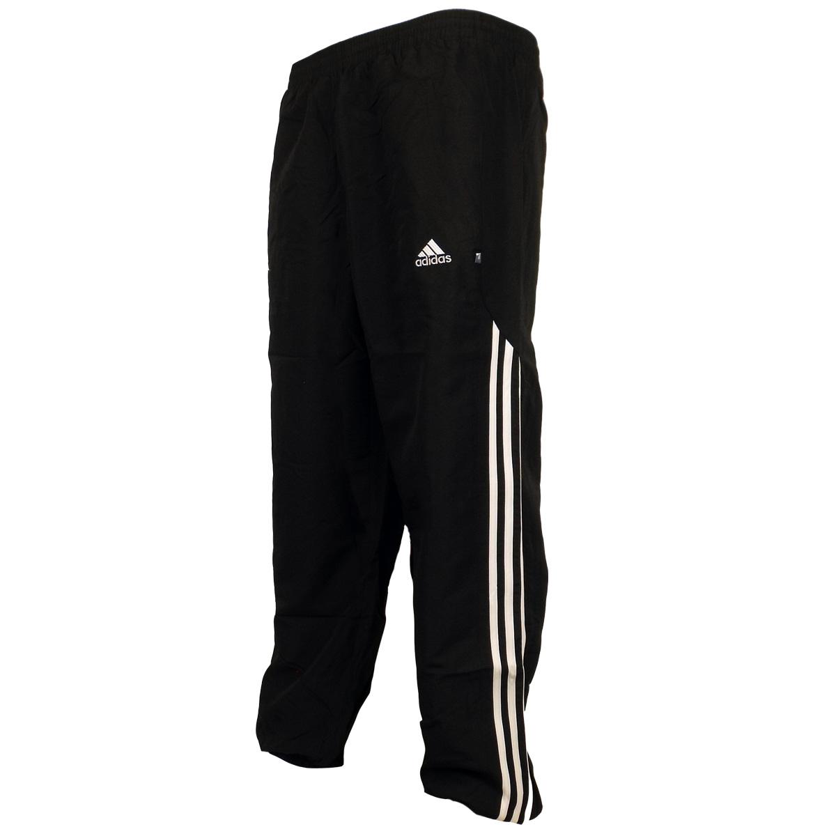 Mens Adidas 3 Stripe Cuffed Stinger Track Pant Bottoms