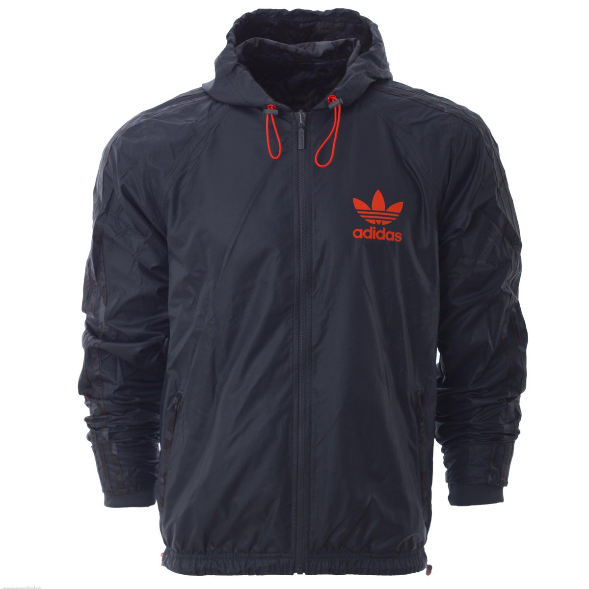 Mens Adidas Originals Camo Reversible Trefoil Windbreaker Jacket ...