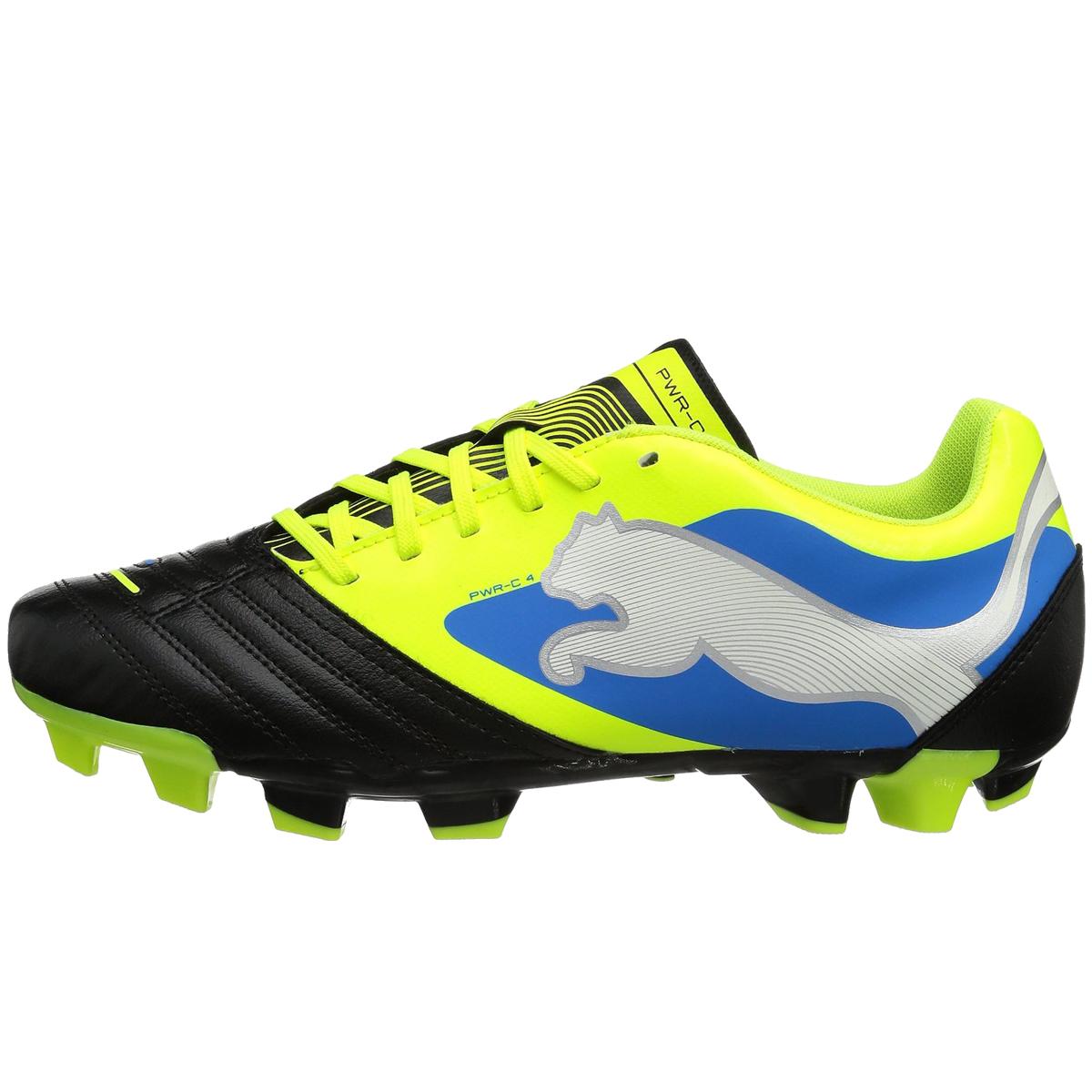 Mens Puma Powercat 4 Fg Firm Ground Black Football Boots