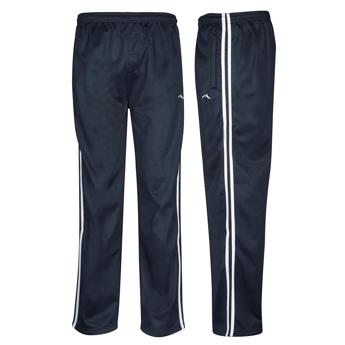 Mens Boys Tracksuit Track Pants Sports Bottoms Pant PE ...
