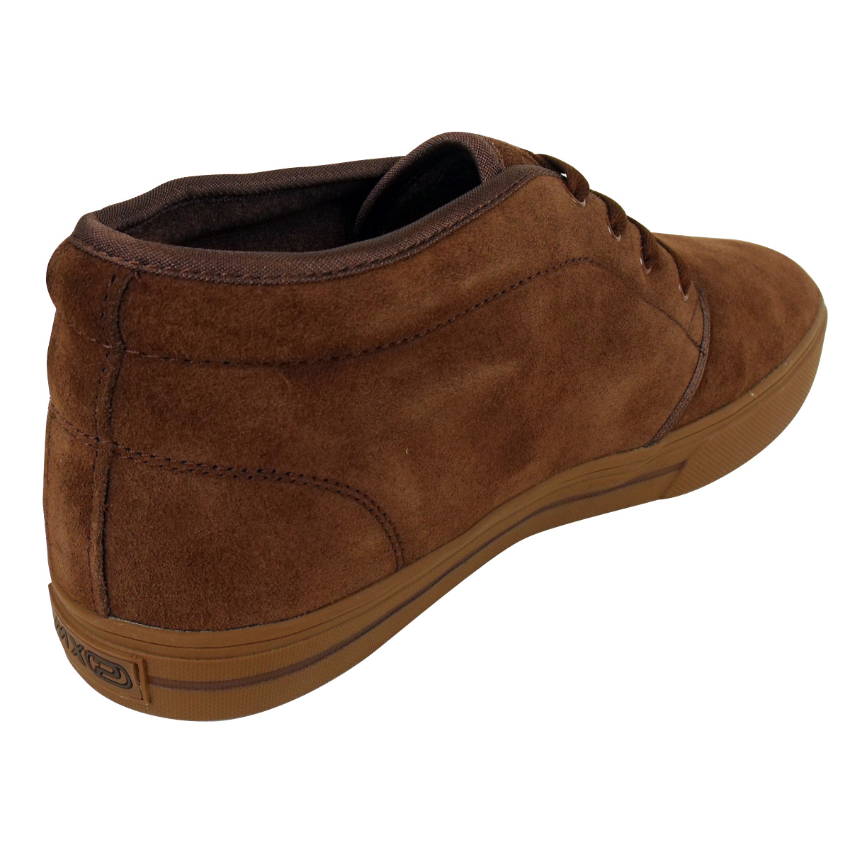 mens genuine suede leather desert boot chukka mod ankle