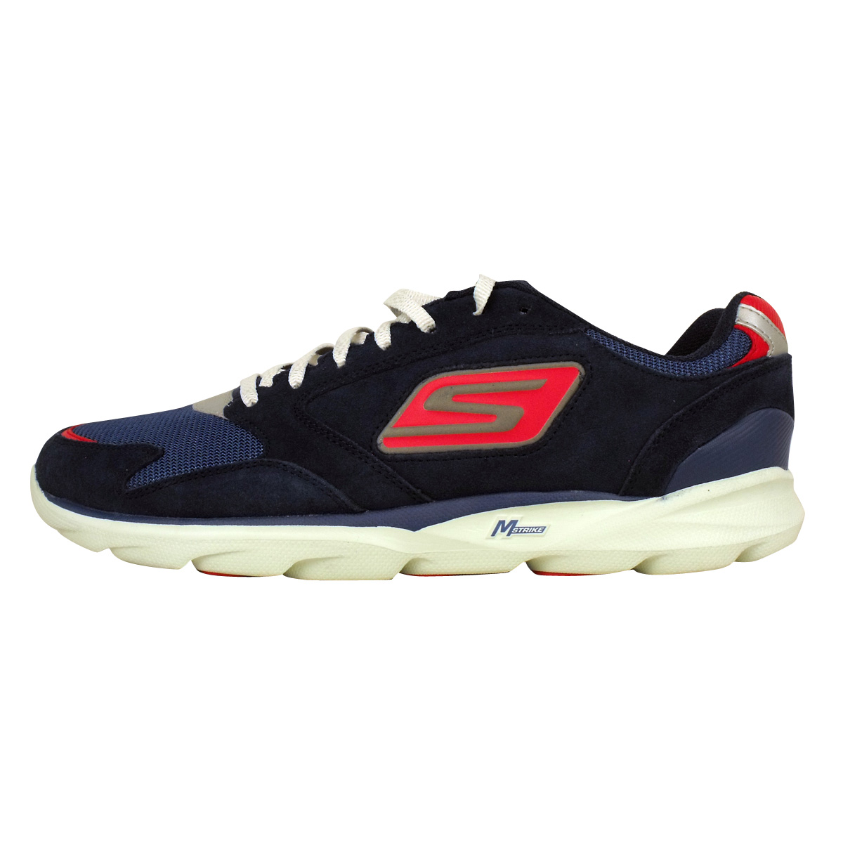 mens skechers go run sonic victory running trainer shoes. Black Bedroom Furniture Sets. Home Design Ideas