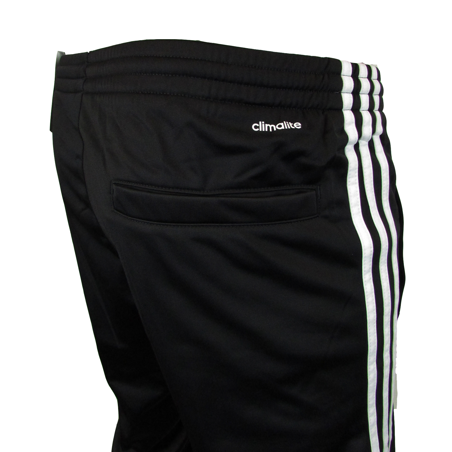 mens adidas icon 2 black polyester climalite tracksuit. Black Bedroom Furniture Sets. Home Design Ideas