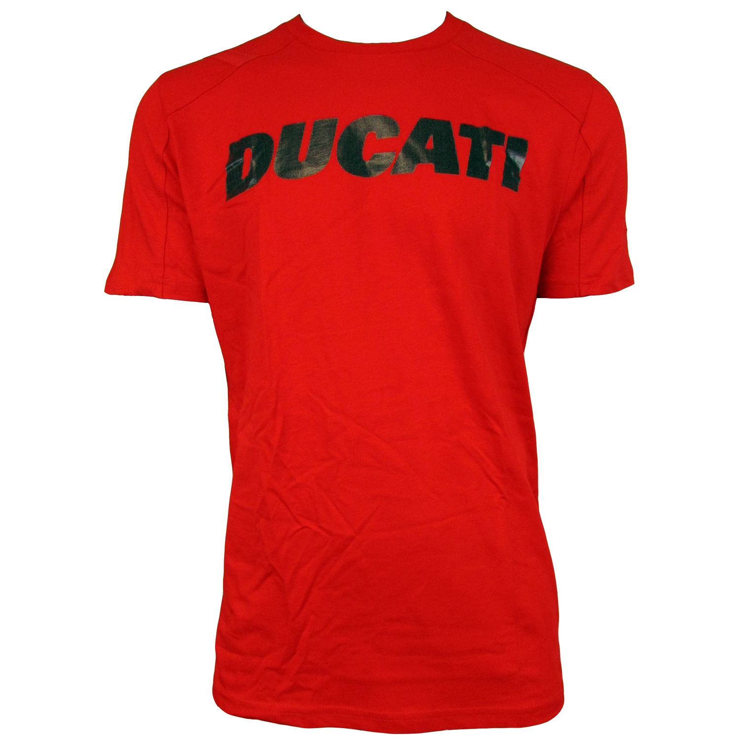 new mens puma ducati motorsport tee red graphic t shirt with logo top size s xxl ebay. Black Bedroom Furniture Sets. Home Design Ideas