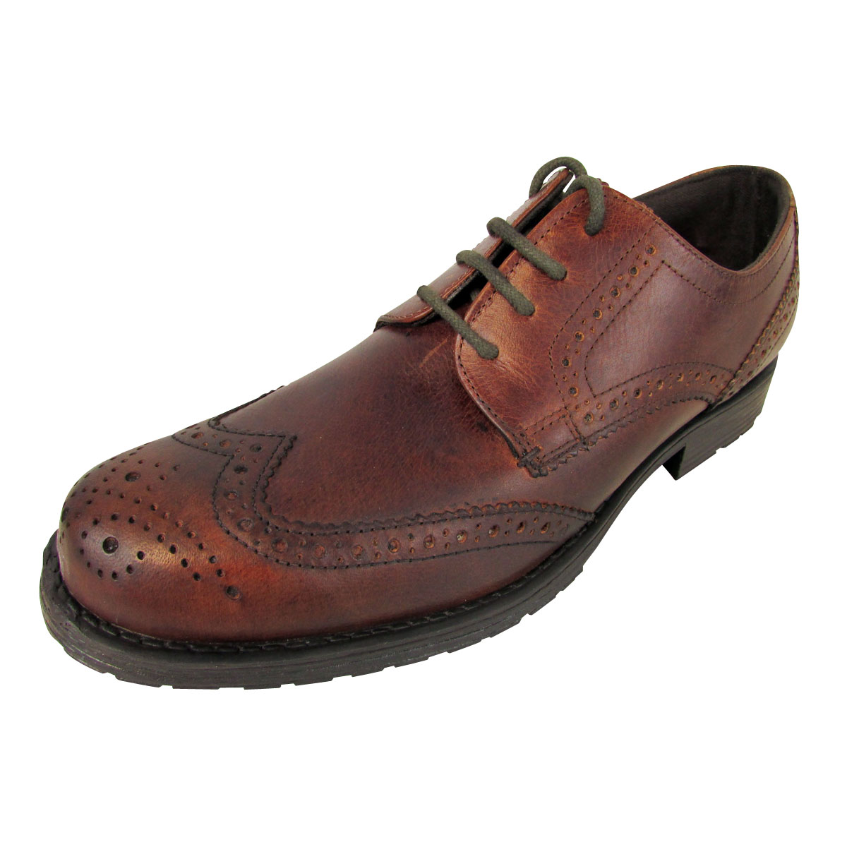 Mens Red Tape Leather Brogue Shoes Designer Brogues Shoe