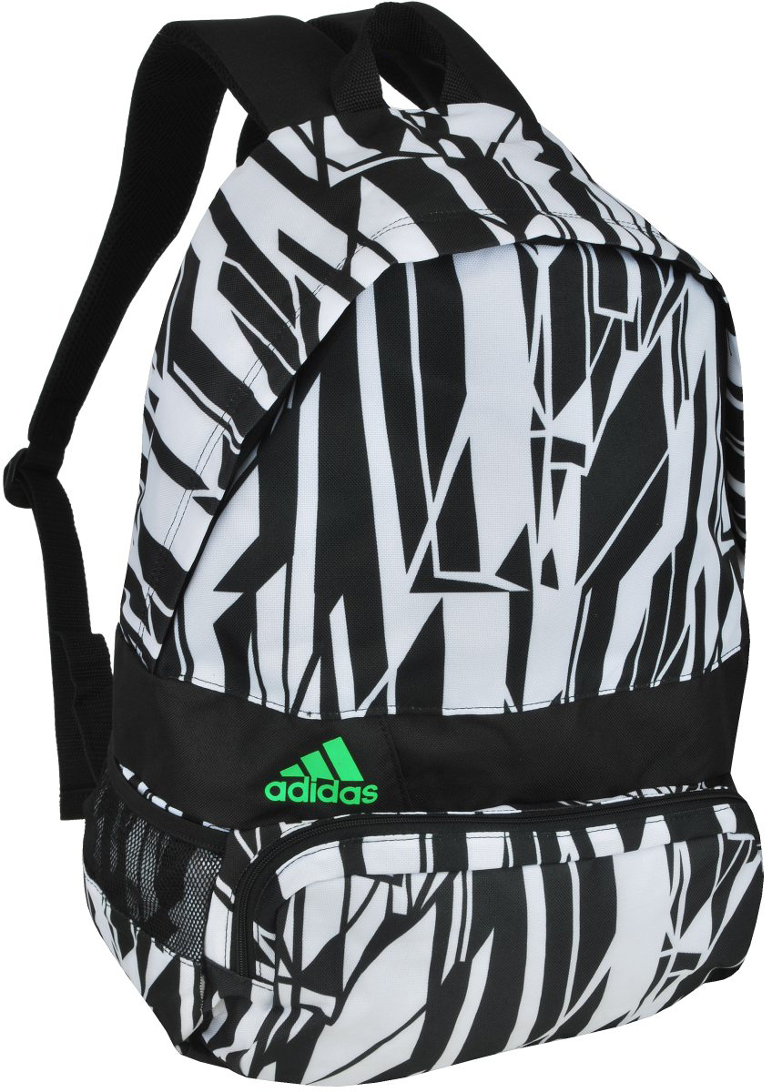 adidas boys black school rucksack backpack shoulder bag