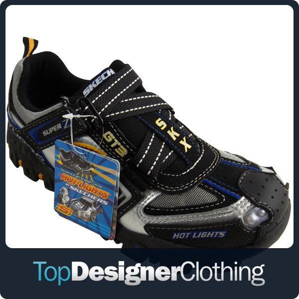 Leather Velcro Trainer Shoes