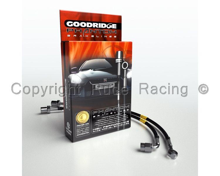 4X Goodridge Phantom Stainless Steel Brake Hose Kit Toyota MR2 85 89