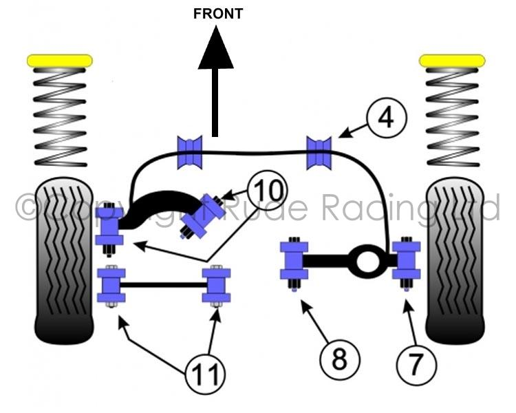 2001 Ford Focus Rear Suspension