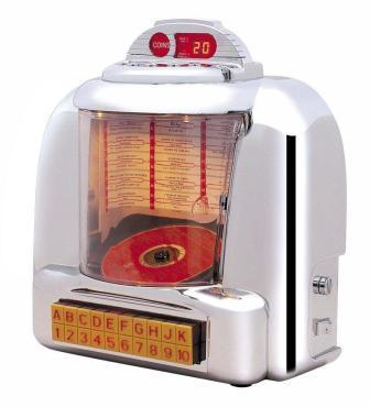 Steepletone 60 S Diner Jukebox Cd Radio Ebay