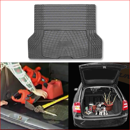 Vauxhall Antara Boot Liner Mat Heavy Duty Rubber Black Ebay