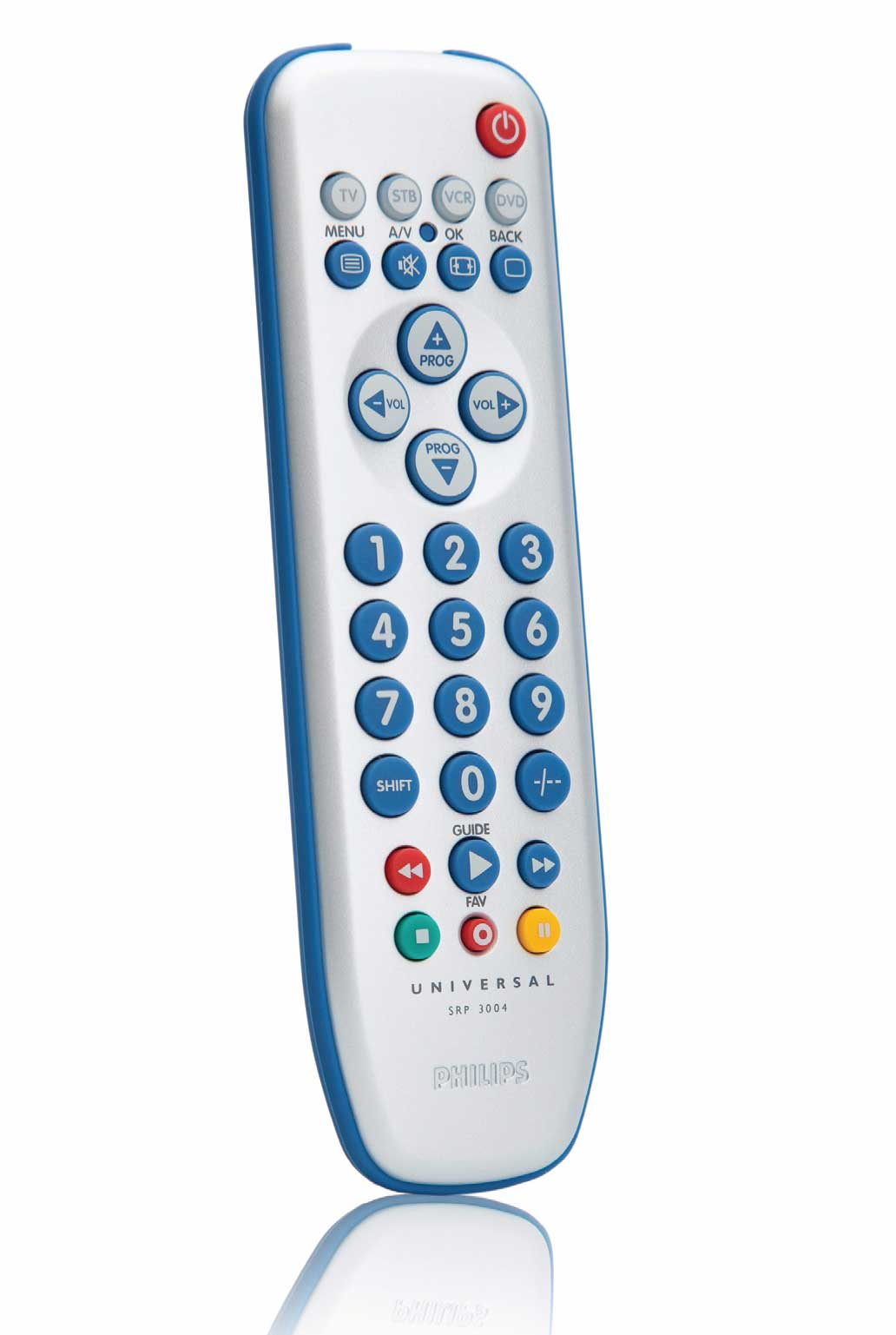 Philips SRP3004 Universal Remote Control TV DVD VCR ST