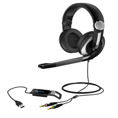 Sennheiser PC 333D: Professional 3D Gaming Dolby Sound Headphone Enlarged Preview