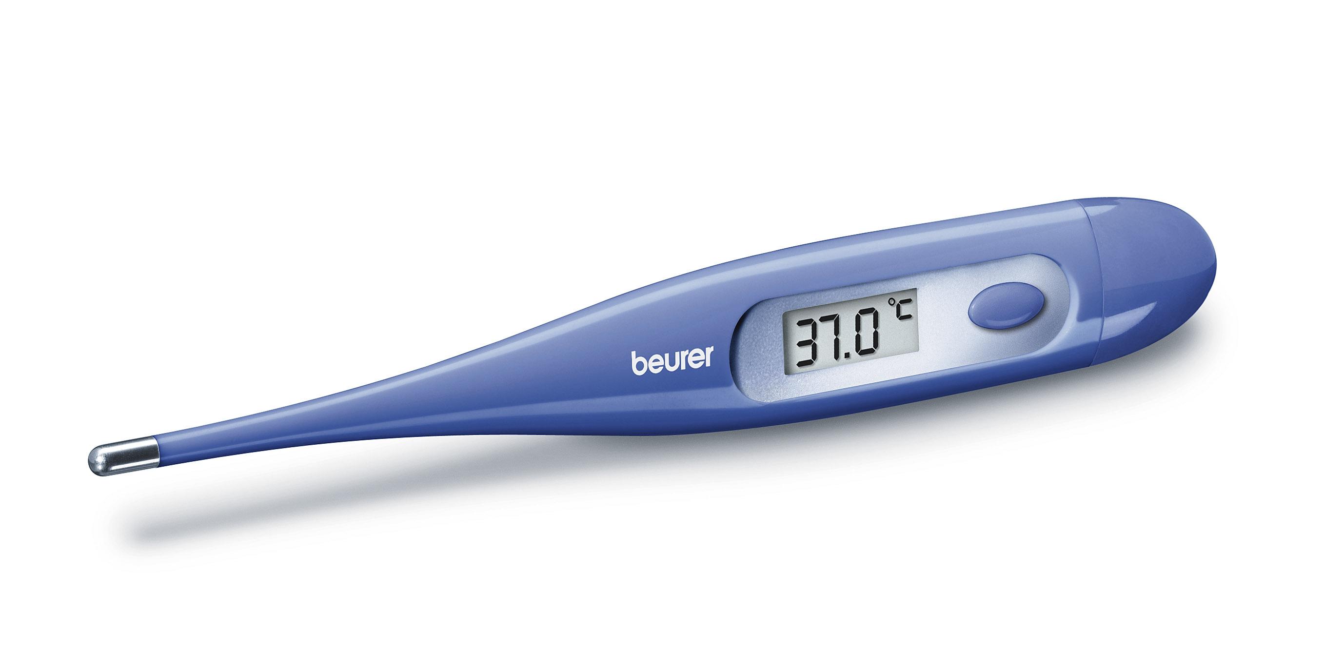 Beurer Digital Fever Oral Thermometer FT09 Blue Medicinal