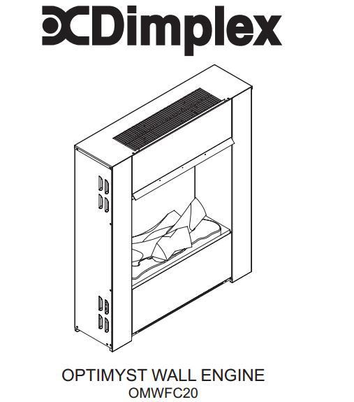 dimplex optimyst omwfc20 wall